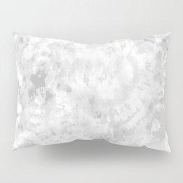 Gray Tie-Dye Pillow Sham
