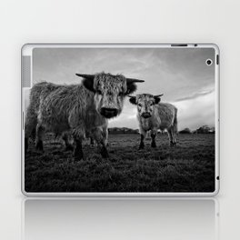 Two Shaggy Cows Laptop & iPad Skin