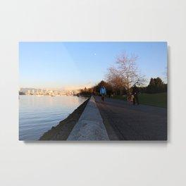Seawall 2 Metal Print