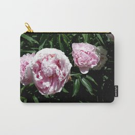 Peony Roses Carry-All Pouch