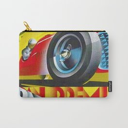 1949 Italian Grand Prix Ascari Motor Racing Vintage Poster Carry-All Pouch
