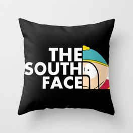 The south face Throw Pillow