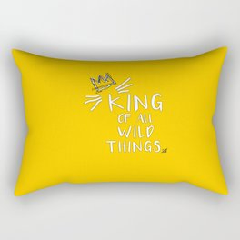 King of All Wild Things - Max Rectangular Pillow