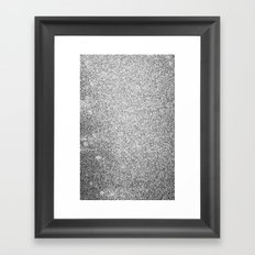 Metallic (Silver) Framed Art Print