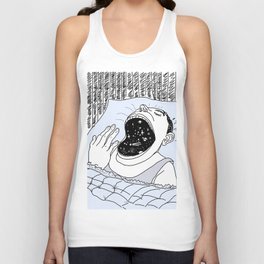 man and the cosmos Unisex Tank Top