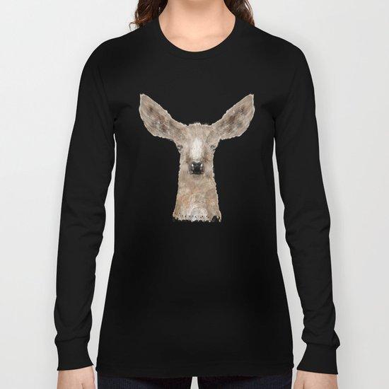 little deer fawn Long Sleeve T-shirt
