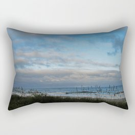 Winter Day in Myrtle Beach, SC, USA Rectangular Pillow