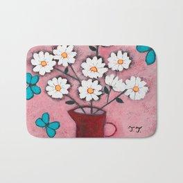 Daisies and Friends Bath Mat