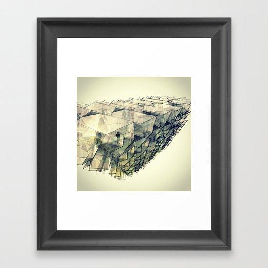 Angular Views  Framed Art Print