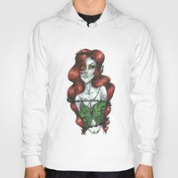 poison ivy Hoodies featuring Poison Ivy  by Creative_little_artist