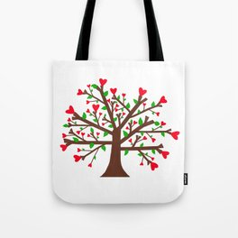 Tree of Love, Tree of Life Tote Bag