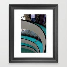 Circular waiting Framed Art Print