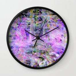 Unicorn Forest Wall Clock