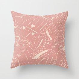 Skin texture Throw Pillow
