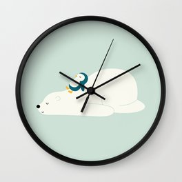Time To Chill Wall Clock