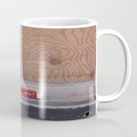cigarettes Mugs featuring Cigarettes and coffee by RMK Photography