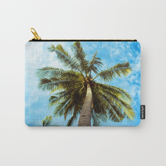 Palm Trees In The Sky Carry-All Pouch
