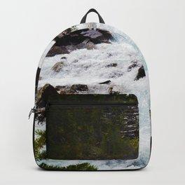 Geraldine Waterfall located in Jasper National Park, Canada Backpack