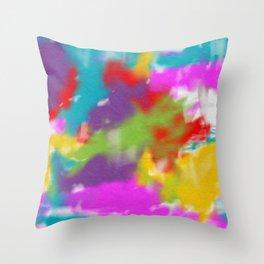 Digital Painting Throw Pillow