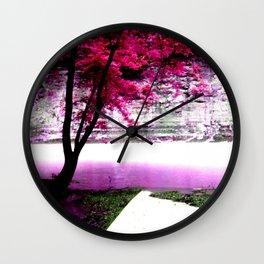 River of Love Wall Clock