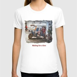 Waiting For a Fare.. T-shirt