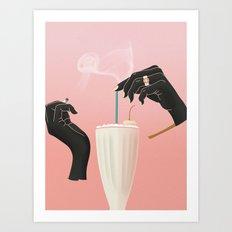 Five-Dollar Milkshake Art Print