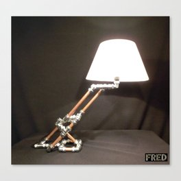 Articulated Desk Lamps - Copper and Chrome Collection - FredPereiraStudios_Page_05 Canvas Print