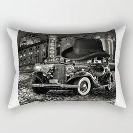 Don Cadillacchio Black and White Rectangular Pillow