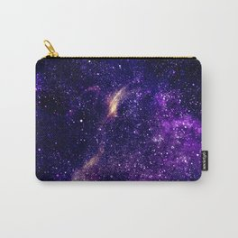 Ultra violet purple abstract galaxy Carry-All Pouch