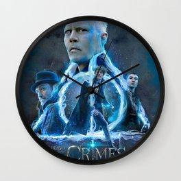 Fantastic Beasts Magic Wall Clock