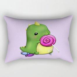 Candysaurus Rex Rectangular Pillow