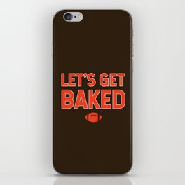 Let's Get Baked iPhone Skin
