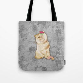 Peaches Revision Tote Bag