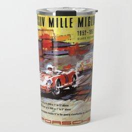Mille Miglia, Race Poster, Vintage Poster, car poster Travel Mug