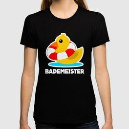 Lifeguard Bath Duck And Lifebuoy T-shirt