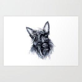Terriers Rock Art Print