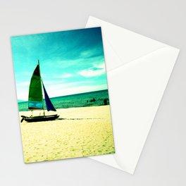 Beach day at lake malawi Stationery Cards