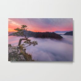 Above the couds Metal Print