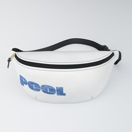Pool design For Men I Why Yes I Am The Pool Man Gift Fanny Pack