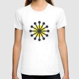 Geometric Pattern 141 (Yellow dandelion) T-shirt