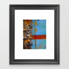 abstract 1 / textural /  Framed Art Print