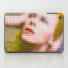 Bowie : Hunky Dory Pixel Album Cover iPad Case