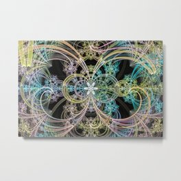 Prismatic Sphericals Metal Print