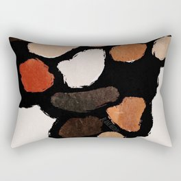 Warm Hive, Home Decor, Living Room Wall, Kitchen Room Wall Rectangular Pillow