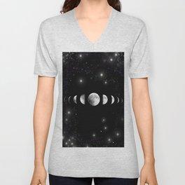 Stars and Moons Unisex V-Neck