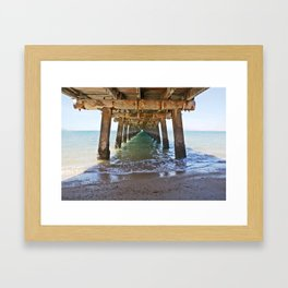 Jetty at Picnic Bay - Magnetic Island Framed Art Print