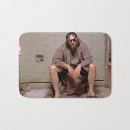 The Dude - Big Lebowski Movie Poster - Funny Bathroom Art, Bathroom Print,Funny Gift Bath Mat