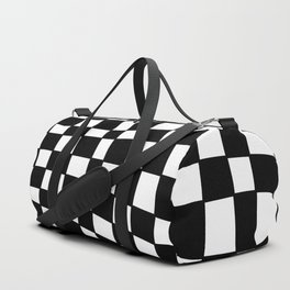 Black and White Distortion Duffle Bag