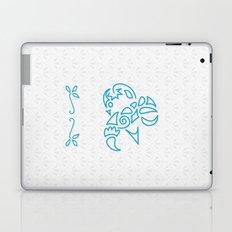 & Scallop: Blue Laptop & iPad Skin