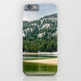 Twin Lakes, Mammoth Lakes, California iPhone Case